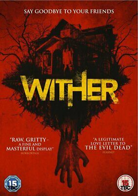 Wither DVD NEW / SEALED Swedish Horror (evil dead type) UK Stock -Scary Movie