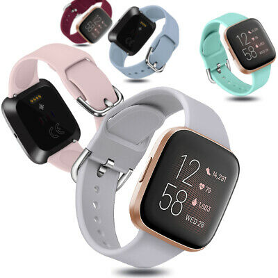 Replacement Strap Silicone Watch Band Bracelet For Fitbit Versa 2 1 Lite