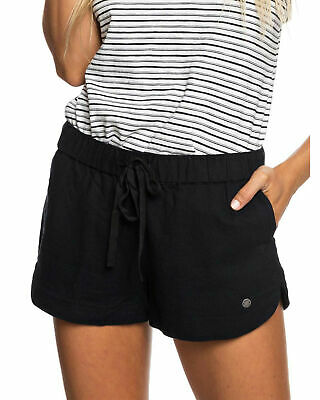 NEW ROXY™  Womens Impossible Love Linen Shorts Womens Shorts