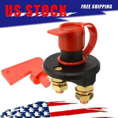 Racing Battery Kill Switch Cut-Off Power Disconnect 12 Volt Breaker TO