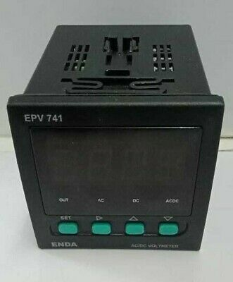 Enda Epv741 Panel Mount Voltmeter