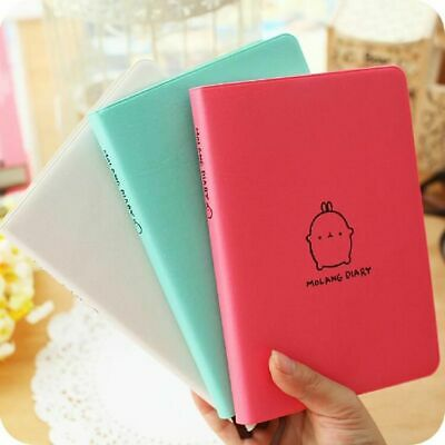 Molang Rabbit 2020 Cute Faux Leather Monthly Weekly Planner Agenda Diary Journa