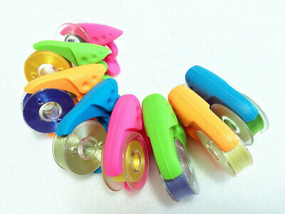 Bobbin Thread Clamps Holder Clip By Tulips Pkt Of 12 Singer Brother Janome Pfaff