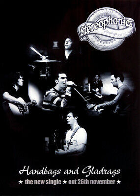 Stereophonics poster - Handbags and Gladrags (single)