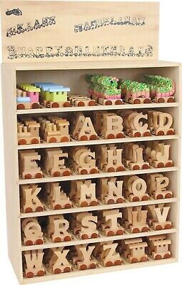 Brand New Wooden Name Train Letters great addition for children and baby's rooms