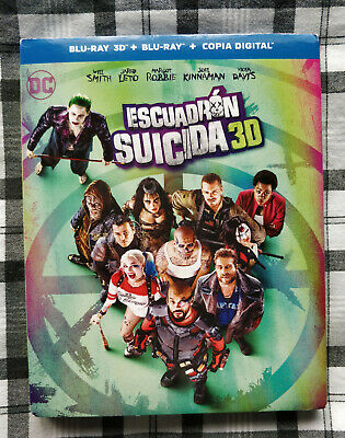 SUICIDE SQUAD BLU-RAY escuadron suicida batman superman aquaman wonder woman