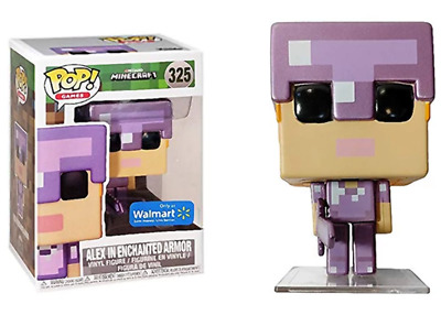 Funko Pop! Alex in Enchanted Armor (Minecraft) 325 - Walmart Exclusive