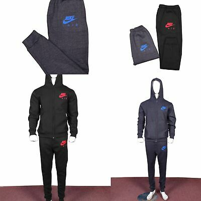 Men's Nike Tracksuit Full Set in Fleece Slim Fit for Jogging and Training