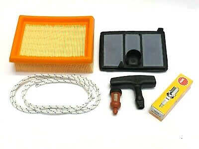 Air Filter Service Kit for Stihl TS700 TS800 Disc Cutters Cord Plug Fuel Filter