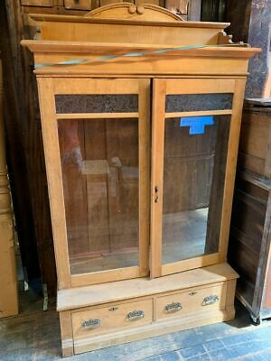 Antique Cabinet Hutch Cupboard