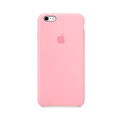 Funda iPhone 6/6s silicona Genuina Apple Silicone case rosa MGXT2ZM/A