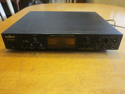 Vintage UNITED UK-8000 Stereo Hi-Fi Karaoke Multiplexer – Works!