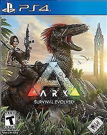 Ark Survival Evolved PS4 video game playstation USED played only a couple times