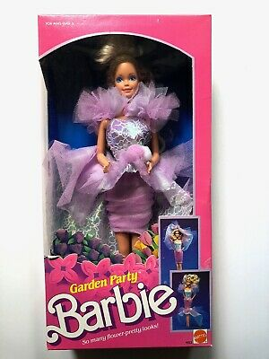 1988 Garden Party BARBIE DOLL by Mattel # 1953 New NRFB Original Box