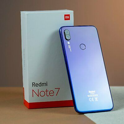 64GB Xiaomi Redmi NOTE 7 VERSION GLOBAL 48MP Español movil libre Smartphone Azul