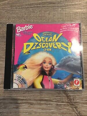 Adventures with Barbie Ocean Discovery CD-ROM Barbie Vintage Computer Game
