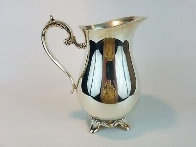 "Wm Rogers & Sons for Int'l Silver Co., Silver Plated Water Pitcher, 9.5"" Tall"