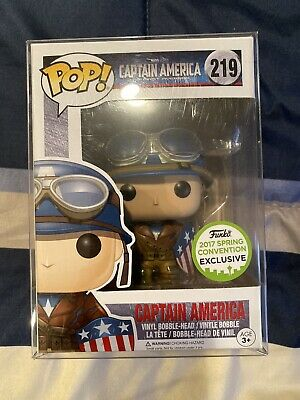 Captain America WWII Funko PoP! 2017 ECCC Exclusive #219