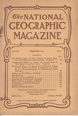 National Geographic Magazine ORIGINAL FEBRUARY 1906 Vol. XVII No. 2
