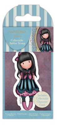 Gorjuss Mini Stamp THE FROCK New Release # 75 Little Girl Collecters Card