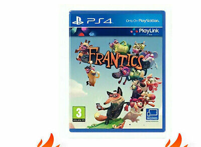 PS4 Frantics PS4 PlayStation 4 Game - Like New Not Sealed