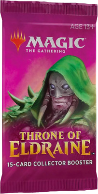 PRESALE MTG Magic the Gathering 1 x THRONE OF ELDRAINE COLLECTOR's BOOSTER PACK