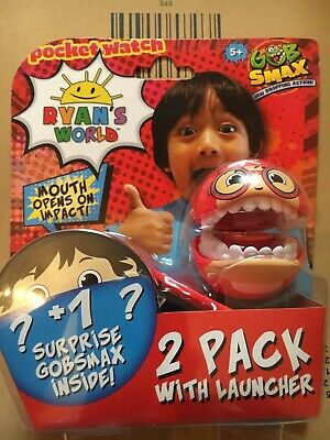 Ryans World Gobsmax 2 Pack With Launcher Assortment