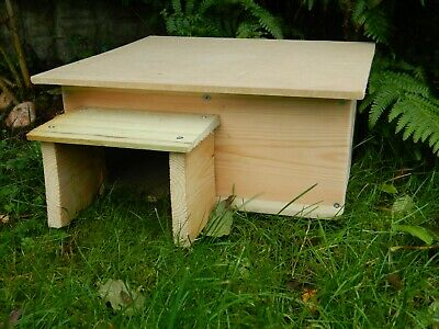 Hedgehog House With Hinged Roof