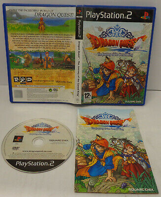 Console SONY Playstation 2 PS2 Play PAL UK con Italiano - Dragon Quest 7 VII -