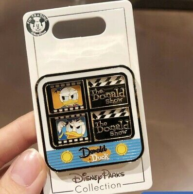 Disney Parks Shanghai 2019 Donald Duck Television Collection Trading Pins