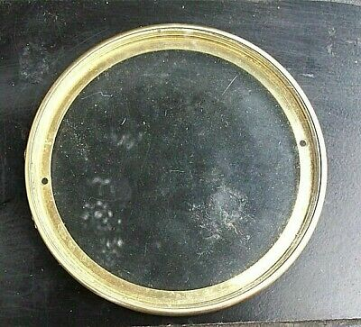 Genuine Antique French Clock Rear Glass Door circa 1880