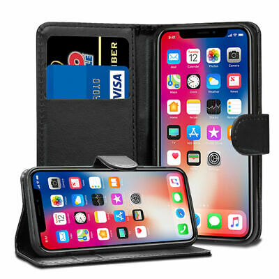 For Apple iPhone 6 6s 7 8 Plus Smart View Mirror Leather Flip Stand Case Cover