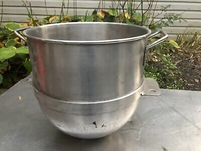 mixing Stainless Bowl Hobart Mixer Large Restaurant Dough 14 X 15 Steel