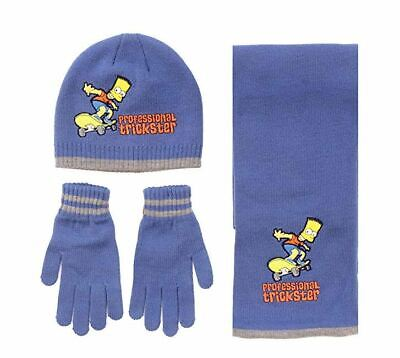 Boys HM4284 Bart simpsons hat//scarf By The Simpsons £4.99