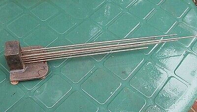 Antique Chime Bar/Gong Westminster Chiming - In Very Good Working Order