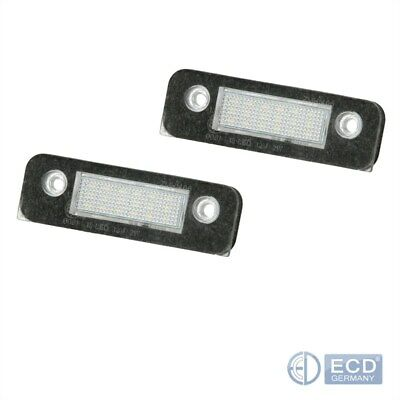 LED Kennzeichenbeleuchtung Beleuchtung 2er Pack Ford Mondeo 2 Fusion Fiesta