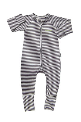 Bonds Baby Long Sleeve Zip Wondersuit Romper sizes 000 0 1 2 Colour Steel White