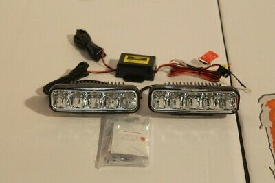New DRL bumper day time running lights pair Fit Land Rover defender 90 110