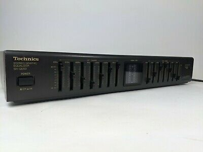 Technics SH-GE50 Stereo Graphics Equalizer