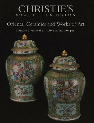 Oriental Ceramics Works Of Art Netsuke Lacquer Jade Paintings Auction Catalogue