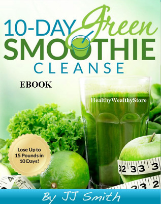 10-Day Green Smoothie Cleanse: Lose up to 15 Pounds in 10 Days ⭐Fast Delivery⭐