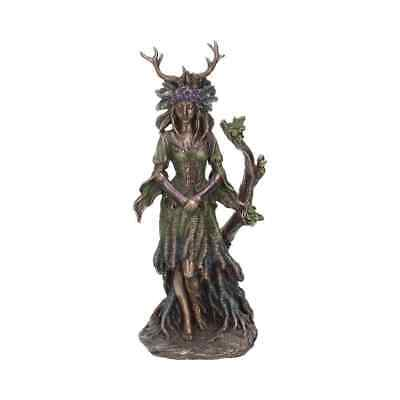 Lady Of The Forest 25cm Pagan Wicca Figurine Ornament Celtic Goddess Figure