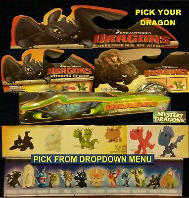2014 How to Train Your Dragon 2 &  Defenders of Berk Figure & EGGS Dreamworks