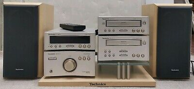 Technics RS-HD310 System, Speakers, Stand & Remote Control