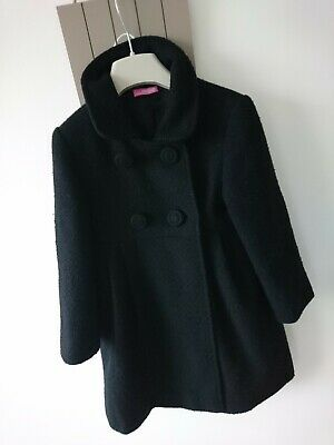 Sweet millie girl school autumn/winter coat 5 years excellent condition