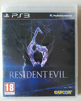 Playstation 3 PS3 - Resident Evil 6 complet