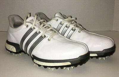 ADIDAS AdiPower Boost Endless Energy Tour 360 Mens 8.5 White Golf Shoe