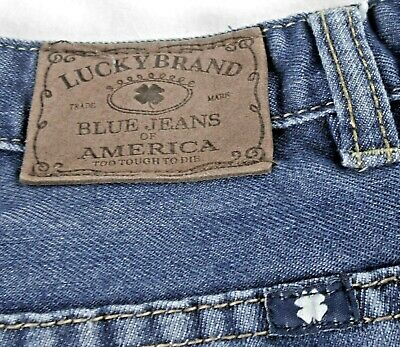 Lucky Brand faded blue girls size 16 Billy Straight leg jeans