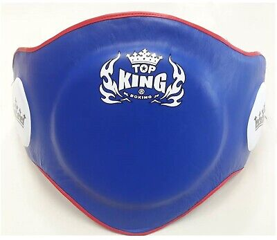 TWINS SPECIAL BEPL 2 TRAINER PROTECTOR BELLY PADS BURGUNDY LEATHER MMA K1