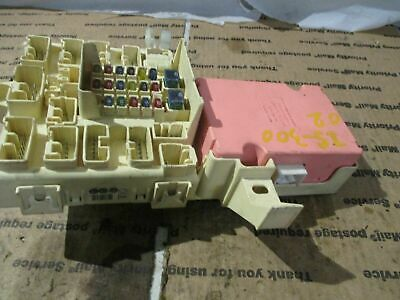 01-05 Lexus IS300 Left Fuse Relay Box With MPX Assy OEM Used IS 300